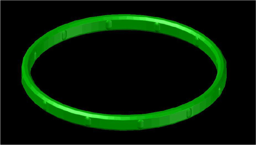 Use O-ring of exclusive design